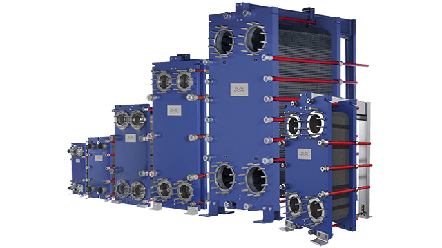 Industrial Heat Exchangers : Alfa laval industrial semi welded line